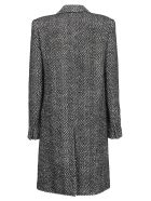 Saint Laurent Coat - Noir craie