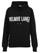 Helmut Lang Fleece Logo - Black