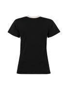 Lanvin Printed Cotton T-shirt - black