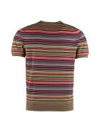 Drumohr Striped Knitted T-shirt - Multicolor
