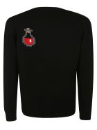 Moncler Knitted Sweater - Black/Multicolor