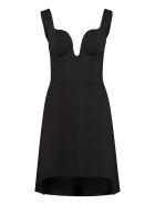 Alexander McQueen Corset Dress - black