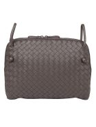 Bottega Veneta Leather Shoulder Bag - Quetsche