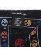 Alexander McQueen Mended Skull Modal Scarf - Multicolor