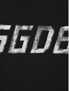 Golden Goose Logo Print Sweatshirt - BLACK