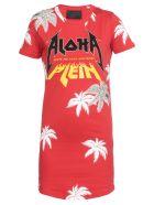 Philipp Plein Aloha Dress - RED