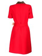 Gucci Belt Dress - Red