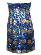 Giuseppe di Morabito Sequin Embellished Dress - Blue