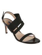 Stuart Weitzman Adrienne Sandals - black