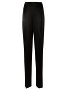 Max Mara Pianoforte Straight Long Trousers - Black