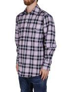 MSGM Lilac Cotton Blend Shirt - LILAC