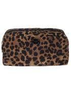 Dolce & Gabbana Leopard Print Long Beauty Case - leopard print