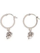 Alexander McQueen Earrings With Crystals - Gold