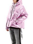 Khrisjoy Silver Khris Puffer Jacket - LAMINATED LIGHT PINK (Pink)