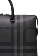 Burberry Manchester Check Briefcase - Nero grigio