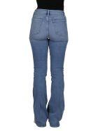 Frame Blue Cotton Le High Flare Jeans - LIGHT AZURE