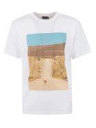 Marcelo Burlon Ostrich T-shirt - Whitebeige