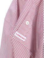 Y/Project Striped Asymmetric Shirt - RES STRIPES