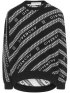 Givenchy Chaine Sweatshirt - Black