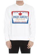 Dsquared2 Logo Sweatshirt - White