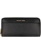 Michael Kors Grainy Leather Wallet - Nero