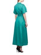 SportMax Flared Dress - Green