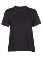Sacai Side Pocket T-shirt - Blue