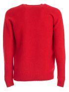 Drumohr Sweater Crew Neck Wool - Rosso