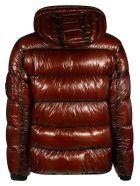 C.P. Company Zip Hooded Padded Jacket - Brown