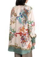 Gucci Roi Soleil Printed Shirt - Beige