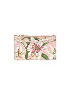 Dolce & Gabbana Dolce&gabbana Lily-print Cardholder - PINK LILLIUM PRINT