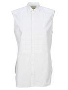 Bottega Veneta Padded Shirt - WHITE