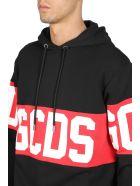 GCDS Band Logo Hoodie - Nero