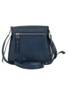 J.W. Anderson Jw Anderson Classic Disc Shoulder Bag - Navy