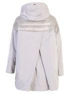 Herno Nylon And Taffeta Padded Jacket - Metallic