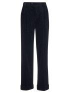 Alysi Pleated Trousers - Night Blue