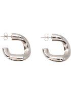 Simon Miller Echo Hoop Earrings - silver