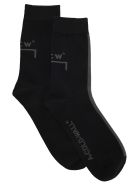 A-COLD-WALL A Cold Wall Mission Statement Sock - BLACK