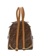 Fendi Monogram Mini Backpack - Cammello