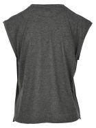 Saint Laurent Malibu Printed T-shirt - GREY