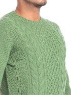 Drumohr Round Neck Wool - Green