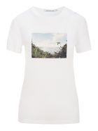 Calvin Klein Jeans Photo And Logo Print T-shirt - WHITE + PIRNT