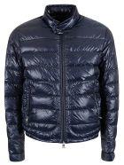 Moncler Zipped Pocket Padded Jacket - Blue
