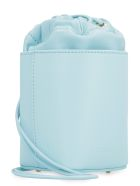Nico Giani Adenia Mini Leather Bucket Bag - Blue