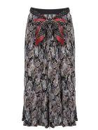 Zimmermann Ladybeetle Pleated Mini Skirt