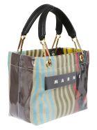 Marni Bag Glossy Grip - White/sun