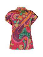 Alberta Ferretti Printed Cotton Shirt - Multicolor