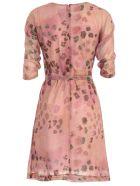 Blumarine Dress 3/4s Camouflage Lurex - Phard
