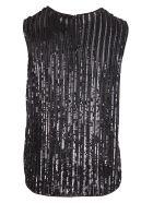 Max Mara 'asia' Polyester Top - Black
