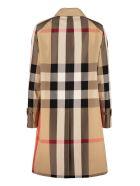Burberry Checked Print Coat - Multicolor